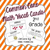 Common Core Math Vocabulary Cards: Grade 2