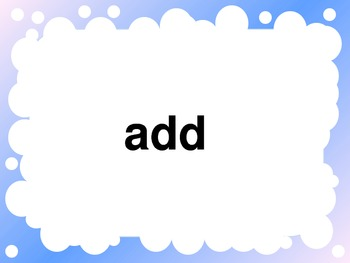 Common Core Math Vocabulary PowerPoint for 4th Grade