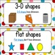 Common Core Math Vocabulary Words: First Grade {in colorful dots}