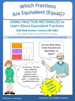 Common Core Math - Which Fractions Are Equivalent?