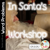 Common Core Math Word Problems in Santa's Workshop