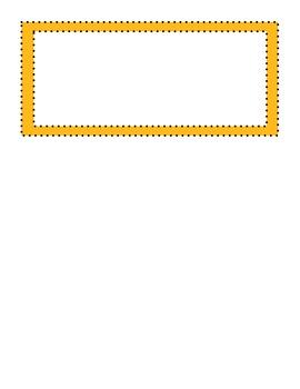 Common Core Math Word Wall Vocabulary Fourth Grade