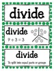 Common Core {Math Word Wall} for 3rd Grade