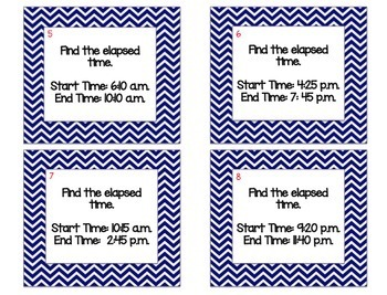 Math Stations for Third Grade Bundle