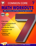 Common Core Math Workouts Grade 7 20% OFF! 404221