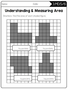 Common Core Math Worksheets - 3rd Grade