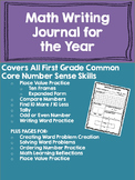 Common Core Math Writing Journal
