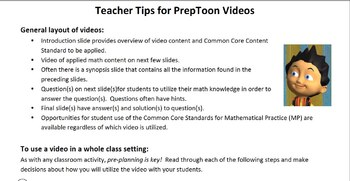 Coordinate Planes-Common Core Math Bell Ringer