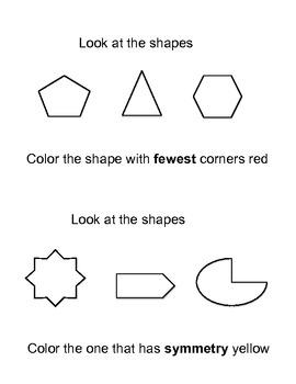 Common Core Math  in Kindergarten (Geometry)