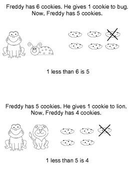 Common Core Math in Kindergarten (Subtraction)