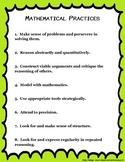 Common Core Mathematical Practices