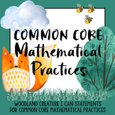 Common Core Mathematical Practices - I Can Statements - Wo