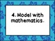 Common Core Mathematical Practices Posters: Beach Theme