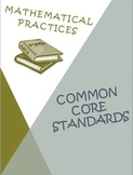 Mathematical Practices Posters Rubrics Scoring Sheets