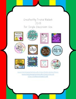 Common Core Mathematical Practices Signs Primary Stripe Theme