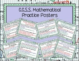 8 Mathematical Practices for Common Core Posters with Reflection Questions