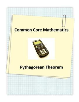 Common Core Pythagorean Theorem