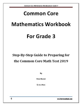 Common Core Mathematics Workbook For Grade 3: Step-By-Step Guide