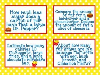 Common Core McDonalds Math - The UNhealthy Truth