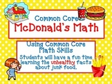 Common Core McDonalds Math - The UNhealthy Truth
