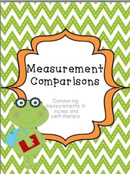 Common Core Measurement Comparison Activity {2nd Grade Math}
