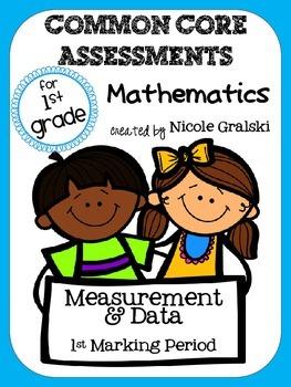 Common Core Measurement & Data Assessments - 1st Marking Period