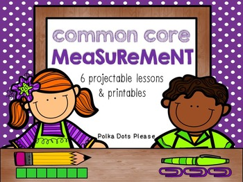 Common Core Measurement Projectable Lessons &