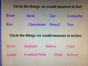 Free Common Core Measurement Review