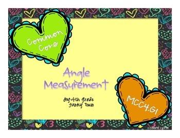 Common Core: Geometry: Angle Measure