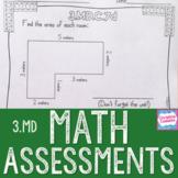Math Assessments - Third Grade Measurement