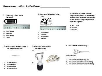 Common Core Measurement and Data Measuring