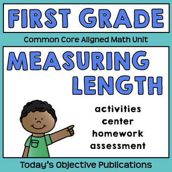 Common Core Measuring Length (First Grade Math Activities)