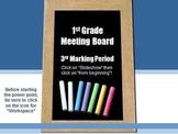 Common Core Meeting Board Calendar