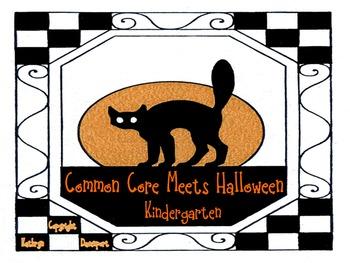 Common Core Meets Halloween...Kindergarten