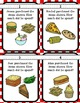 Common Core Menu Math Task Card Kit- Addition-Regrouping 3 Addends