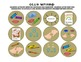 """Kindergarten Common Core ELA Badges, with """"I Can"""" Checklists"""