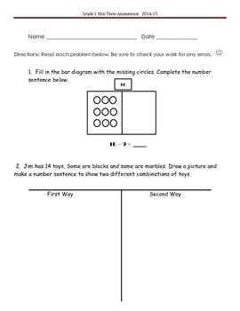 Common Core Mid-Term Assessment