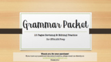 TEKS Middle School Grammar Packet-- Revising and Editing STAAR Prep