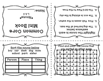 Language Arts Booklets for Second Grade