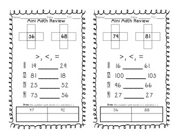 Common Core Mini Math Review