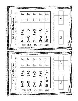 Common Core Mini Math Review II