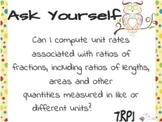Common Core Mini-Posters Ratio & Proportion 7RP