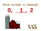 Common Core Missing Number December