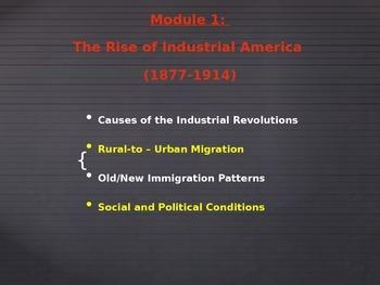 Common Core - Module 1 - US History