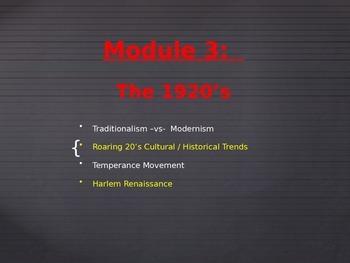 Common Core - Module 3 - US History