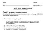 Common Core Module Bud, Not Buddy Final Test