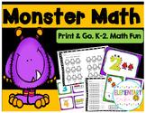 Common Core Monster Math