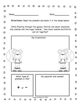 Common Core Morning Super Bundle (1st Grade) (Addition & Subtraction) {200}
