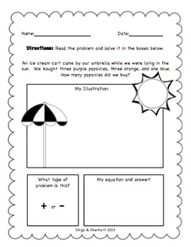Common Core Morning Work Bundle (1st Grade) (Addition & Subtraction) {100 Pg}