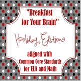 Common Core Morning Work: Holiday Edition